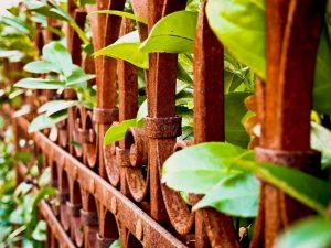 ogrodzenia ogrodowe metalowe