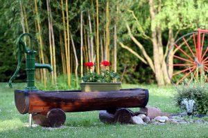 PoradyOgrodnicze.pl - Pomysły na fontannę w ogrodzie - fontanna pomysłowa